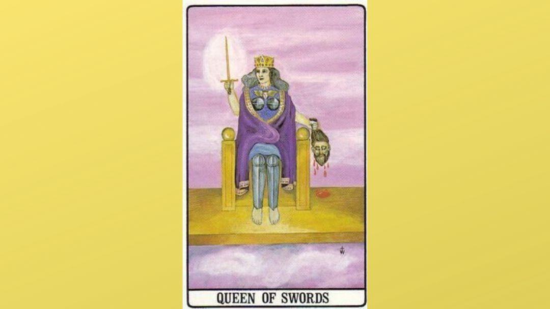 Queen of Swords – Golden Dawn