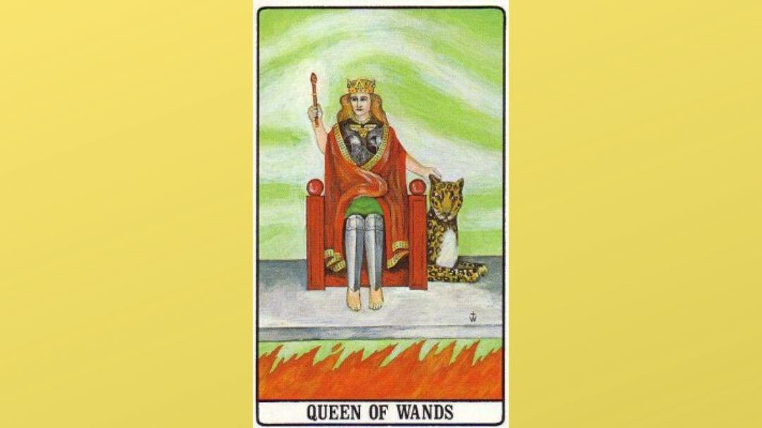 Queen of Wands – Golden Dawn