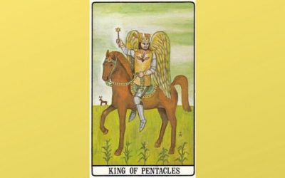 King of Pentacles – Golden Dawn