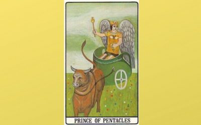 Prince of Pentacles – Golden Dawn