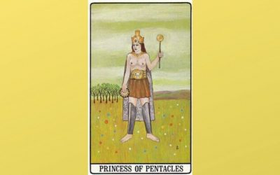 Princess of Pentacles – Golden Dawn