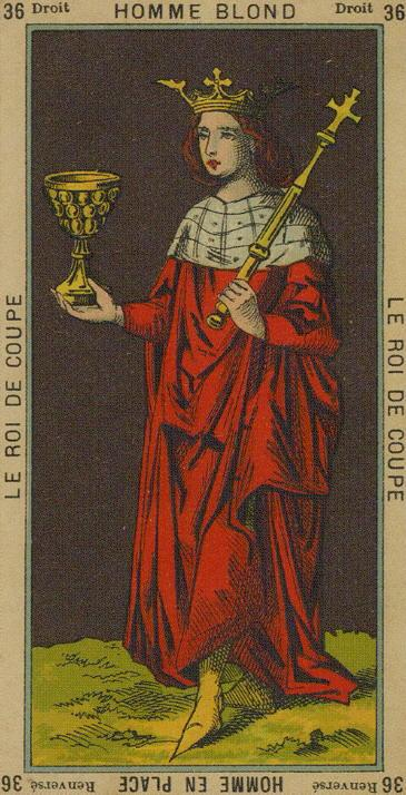 36 King of Cups The Etteilla Tarot The Book of Thoth