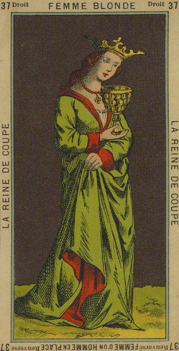 37 Queen of Cups The Etteilla Tarot The Book of Thoth