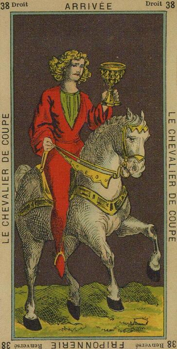 38 Knight of Cups The Etteilla Tarot The Book of Thoth