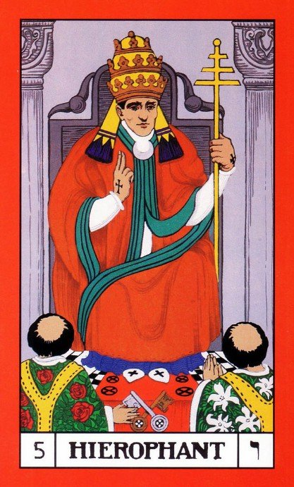 5 bota tarot the hierophant